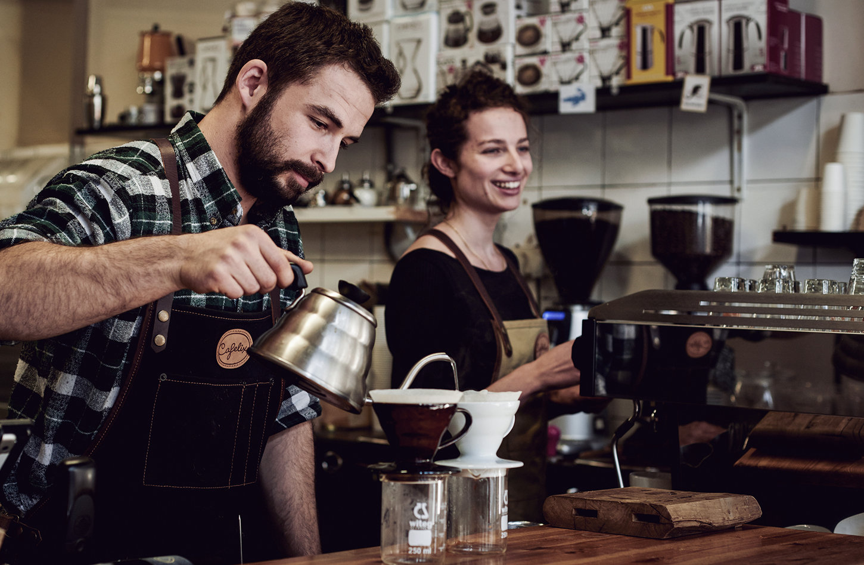 בריסטה קפה פילטר